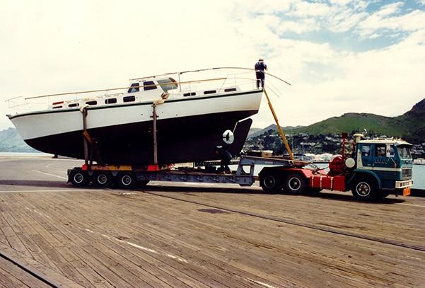 Historical 25tonne boat
